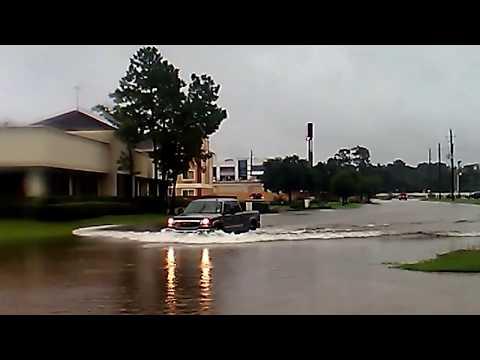 The Woodlands Texas Flooding >> Hurricane Harvey Flooding Spring Creek Kuykendahl Road The