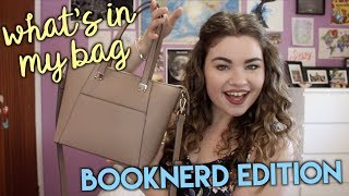 WHATS IN MY BAG: BOOKNERD EDITION