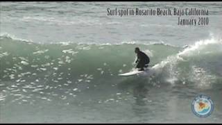 preview picture of video 'Americans visiting Rosarito Beach Baja California for the surf - Testimonial #1'