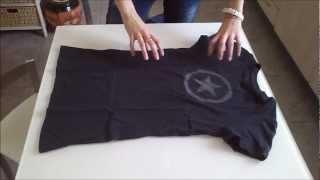 Como doblar las camisetas best la mejor forma para doblar - Como doblar jerseys para que ocupen poco ...