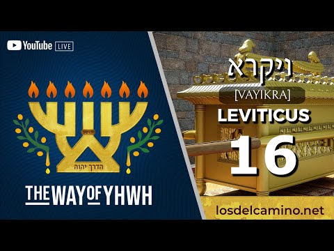 Leviticus 16 [ויקרא] (Day of Atonement | Yom Kippur | יום כיפור) {The Death of the Two Witnesses}