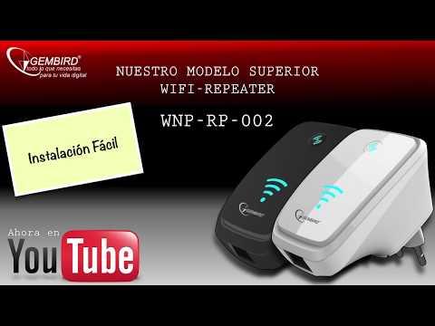 REPETIDOR WIFI - N WIFI PARA WLAN CON FUNCIÓN WPS - 300 Mbps