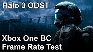 Halo 3 ODST Xbox One vs Xbox 360 Backwards Compatibility Frame Rate Test