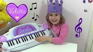 Disney VIOLETTA elektronisches Keyboard ♫ Hannah macht Musik