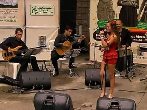 María Camila Tapias. Ganadora 2° Concurso Intercolegiado Antioquia le Canta a Colombia