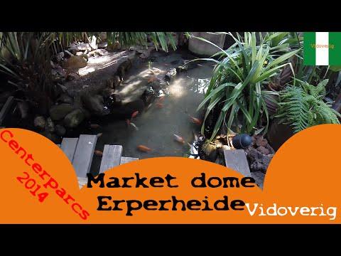 Center parcs Erperheide market dome 2014