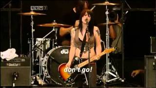 The Distillers - THE HUNGER (with lyrics)