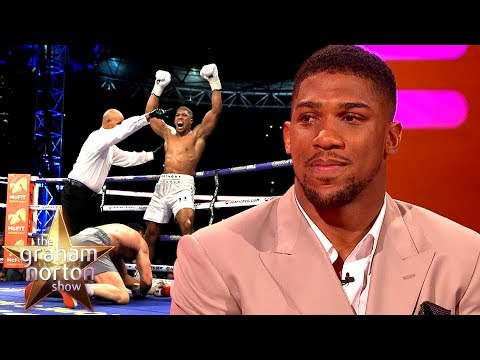 Anthony Joshua 'Slipped' During His Fight with Wladimir Klitschko | The Graham Norton Show