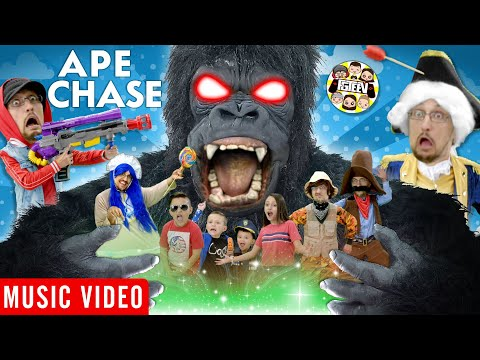 APE CHASE 🎵 FGTeeV OFFICIAL MUSIC VIDEO