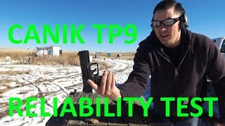 canik tp9 v2 reliability test