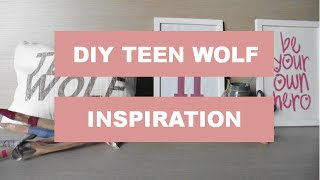 DIY Room Decor - inspiration Teen Wolf