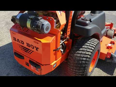 2012 Bad Boy Mowers Compact Diesel 6100 in Saucier, Mississippi