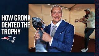 How the Super Bowl LIII Lombardi Trophy got dented