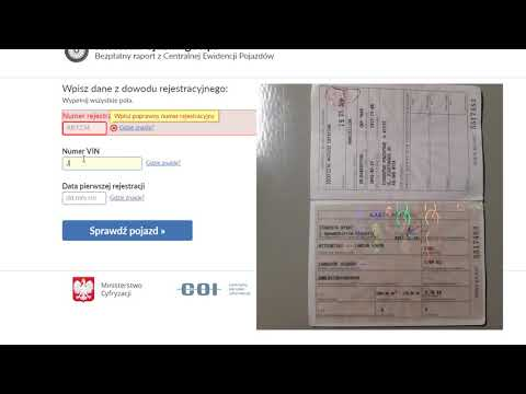 Как узнать, снята ли машина с учета в Польше, и есть ли техосмотр. Снятие евробляхи с учета в Польше