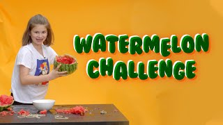 Watermelon Challenge! How Many Rubber Bands To Make It EXPLODE!