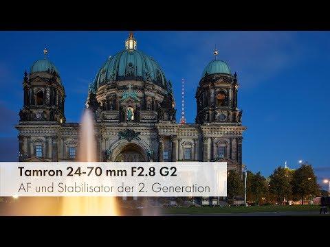 Tamron SP 24-70 mm Di VC USD G2 | Verbessertes Standardzoom im Test [Deutsch]