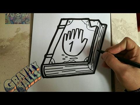 Dibujo En Vivo Diario 1 Gravity Falls
