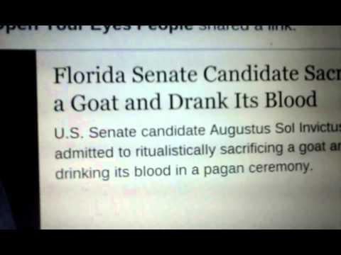 freemason goat sacrifice and drinks the blood - смотреть