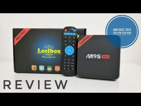 Leelbox M9S Pro TV Box REVIEW - S912, 2GB Ram, 16GB Rom, Android 6.0