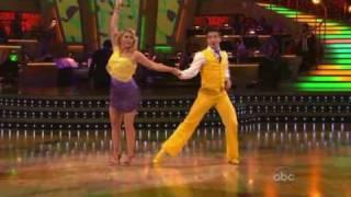 <b>Melissa Joan Hart </b>& Mark Ballas  Salsa