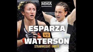 EA Sports UFC 3 Карла Эспарса - Мишель Уотерсон