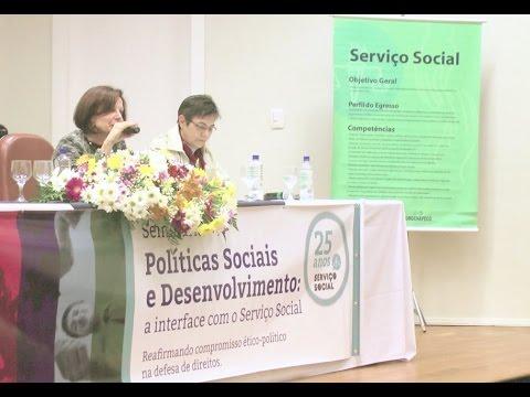 Serviço Social comemora 25 anos
