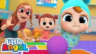 Playtime at School | Little Angel Kids Songs and Nursery Rhymes