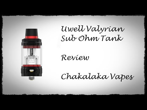 YouTube Video zu Uwell Valyrian Verdampfer 5 ml