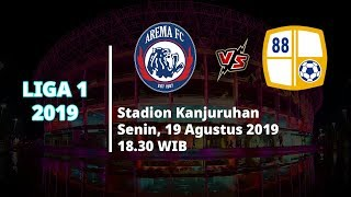 VIDEO: Live Streaming Liga 1 2019 Arema FC Vs Barito Putera Senin (19/8) Pukul 18.30 WIB