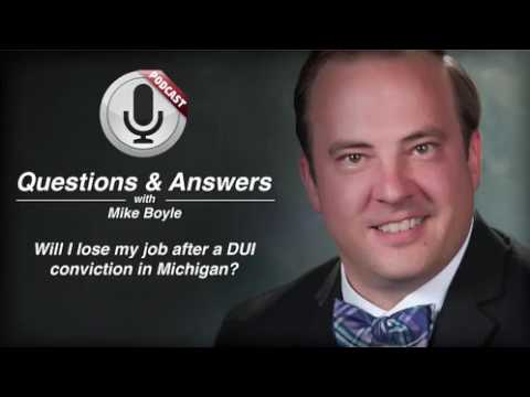 video thumbnail Job Loss and Michigan DUI Conviction