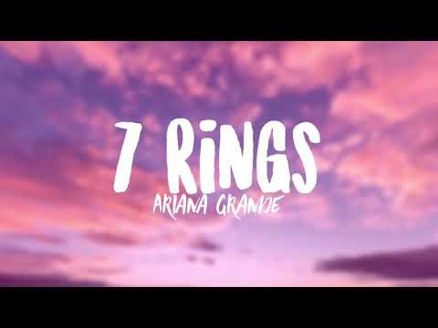 Download Ariana Grande - 7 Rings (Clean - Lyrics) Mp4 HD Video and MP3