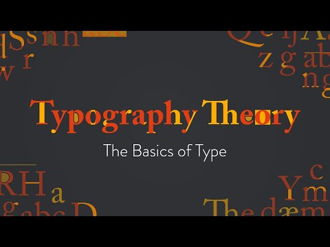Typography Theory: The Basics of Type | Basics for Beginners