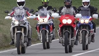 Honda Africa Twin XRV 650 750 CRF1000L - Story [ENGLISH SUB]
