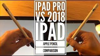 2018 iPad vs iPad Pro - An Apple Pencil comparison test