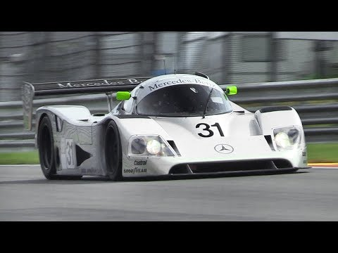 Mercedes-Benz Sauber C11 Group C  Racing at Spa-Francorchamps!