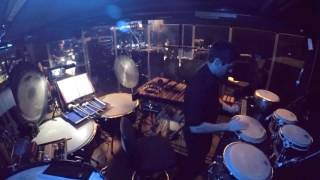 Jesus Christ Superstar European tour play out . Percussionist Pit Cam