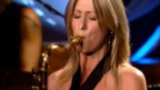 Rod Stewarts schöne Saxofonistin