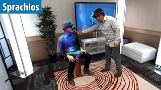 Microsoft macht Teleportieren möglich - virtuell | Sprachlos | deutsch / german
