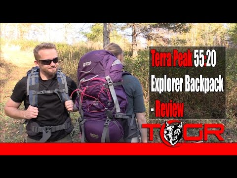 Inexpensive Pack! – Terra Peak 55:20 Explorer Backpack – Review