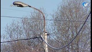 Снегопады в Новгородской области вызвали множественные отключения электричества
