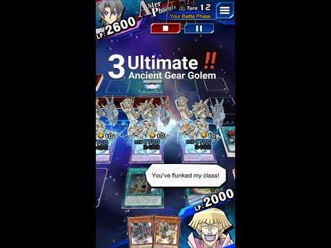 Ultimate Ancient Gear Golem: OTKs [Yu-Gi-Oh! Duel Links