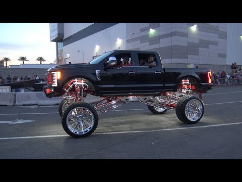 Lifted Trucks At The SEMA Cruise 2018. Mp3