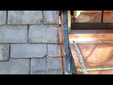 Check out video to see GF Production team install copper waterproofing window pans and bring these beautiful window sills back to life!
