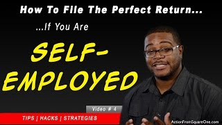 Taxes For The Self-Employed | How To File The PERFECT Income Tax Return