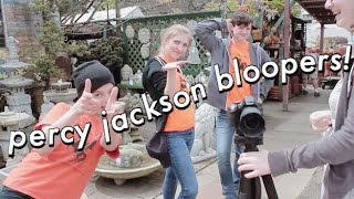 PERCY JACKSON: BLOOPERS AND CRAZIEST MOMENTS!