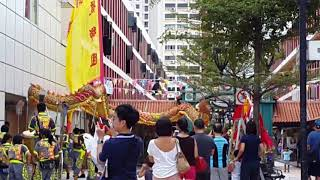 Dragon Dance In Singapore (Toa Payoh)