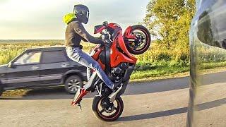 Honda CBR1000RR Wheelie - Езда на заднем колесе