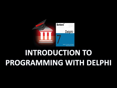 Delphi Programming Tutorial – Introduction To Programming with Delphi