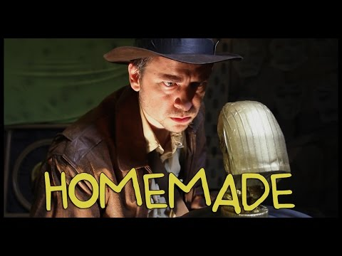 Raiders of the Lost Ark Opening Scene - Homemade w/ Dustin McLean (Shot for Shot)