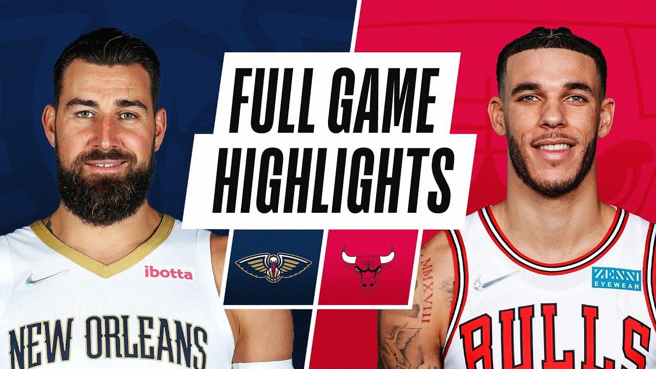 PELICANS at BULLS | NBA PRESEASON FULL GAME HIGHLIGHTS | October 8, 2021